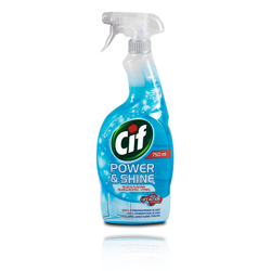 Cif power shine glass spray do szyb 750ml